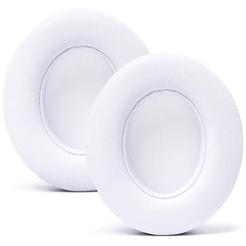 WC Wicked Cushions Upgraded Replacement Ear Pads for Beats Studio Headphones - Compatible with Studio Wired B0500 / Wireless B0501 / Studio 3 Over-Ear Headphones (Does Not Fit Beats Solo) | White