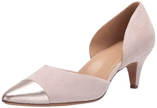 Naturalizer Women's Barb Pump, Soft Marble Suede, 8 W US