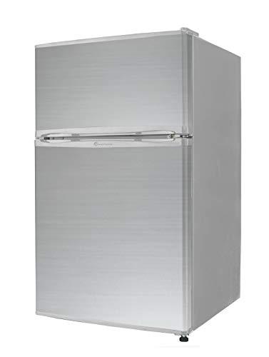 【TOHOTAIYO】2ドア冷蔵庫 両開き対応 90L