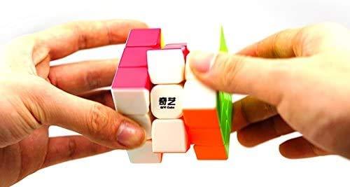 Cubelelo QiYi Warrior 3x3 Stickerless Magic Speed Cube 3x3x3 Puzzle 5