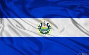 EL SALVADOR 152,4 cm x 91,44 cm bandera centroamericano