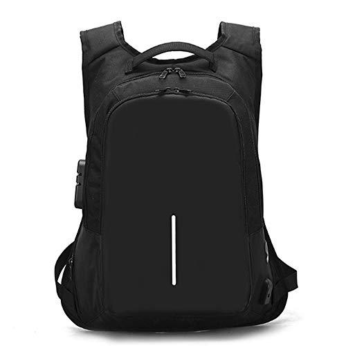 Laptop Backpack for Men Back Pack with USB Charging Port,Notebook Lightweight Travel Backpack (black)