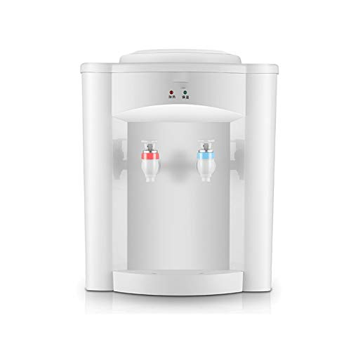Sdesign Soporte del dispensador de la botella de agua para el hogar con el grifo, la encimera mini refrigerador de agua fría y caliente, ideal para el uso del dormitorio del estudiante de la oficina e