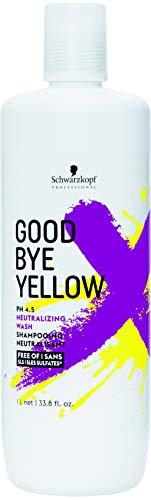 Schwarzkopf Good Bye Yellow Shampoo, 1 l, 2 stuks