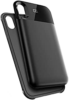 Battery Case for iPhone XR, 5500mAh Portable Charging Case Protective Extended Battery Charger Case Compatible with iPhone...