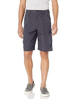 Wrangler Authentics Men's Performance Side Elastic Utility Short, Carbonite, 42 from Wrangler Authentics Men's Sportswear