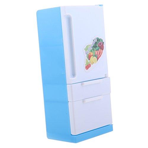 B Baosity Juguete Nevera de Plástico Electrodoméstico para Muñeca Fashion
