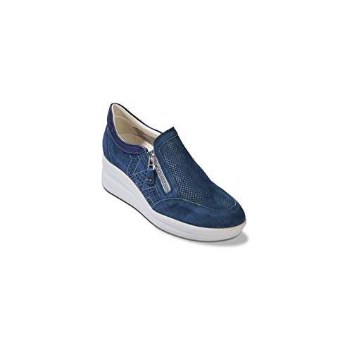 Melluso R20230 - Donna - Walkaccollata, Renna Navy, 38
