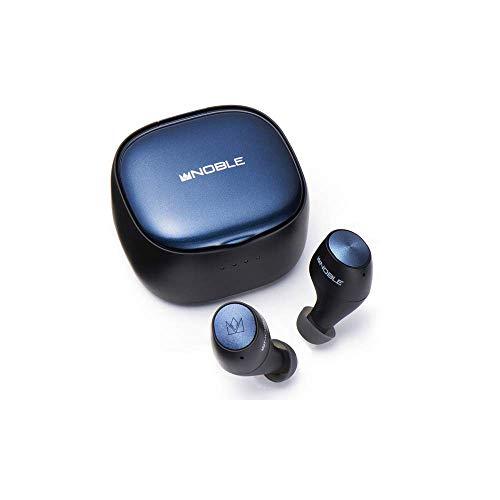 Noble audio FALCON 2【NOB-FALCON2】(ブラック) Bluetooth ワイヤレス イヤホン 防水 IPX7 マイク付き ハンズフリー通話 テレワーク リモートワーク 在宅ワーク 完全ワイヤレスイヤホン フルワイヤレス 無線 コードレス 低遅延 サバゲー PC ASMR かっこいい