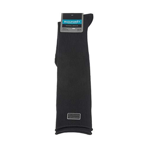 Bluforêt sokken boven de knie – 1 paar – platte naden – zonder pluizig – geen compressoren – fijn – katoen – Excellence