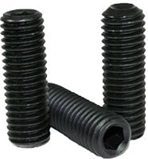 Hex Socket Set Screws UNC Coarse Thread Alloy Steel 5//8-11 X 1 Cup Point 50 pcs Made in U.S.A.