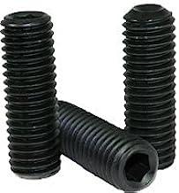 "5//8-11x4/"" Hex Socket Set Screws Cup Point Alloy Steel 2"