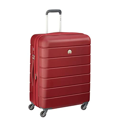 Delsey Paris LAGOS Bagaglio a mano, 66 cm, 81 liters, Rosso (Rot)