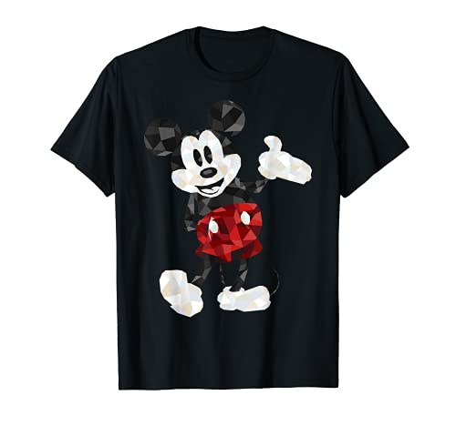 Disney Mickey Mouse Poly Mickey Portrait Graphic T-Shirt
