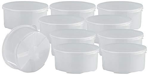 Rosenstein & Söhne Zubehör zu Ice Shaver: 10 extra Formen für Slush-Eisspender