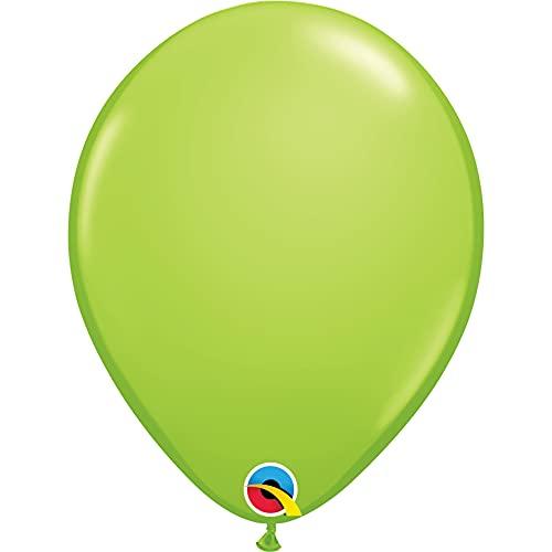 "Qualatex 11"" Lime Green Latex Balloons (100ct) by Pioneer Balloon Company"