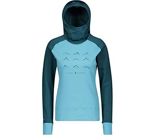 Scott Damen Defined Mid Funktionsshirt blau M