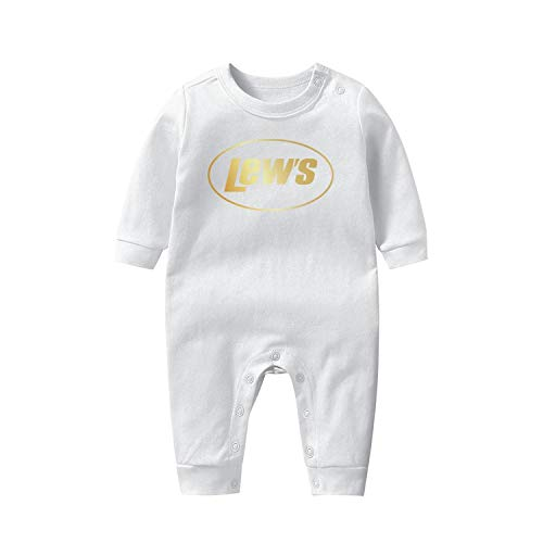 WalterFanny Baby Onesies Lew's-Fishing-Combo-Flash-Gold- Long Sleeve Footed Soft Breathable Baby Pajamas