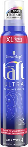 Drei Wetter Taft Schaumfestiger Ultra 24h ultra starker Halt 4, 6er Pack(6 x 180 ml)