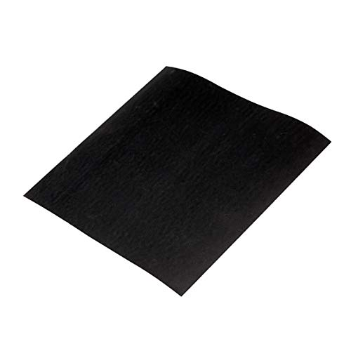 50 Blatt Schleifpapier wasserfest Korn 600 Nassschleifpapier Schleifbogen