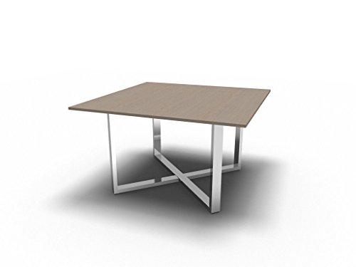 Bralco Besprechungstisch Loopy für 4 Personen, Konferenztisch, Hochwertige Büromöbel