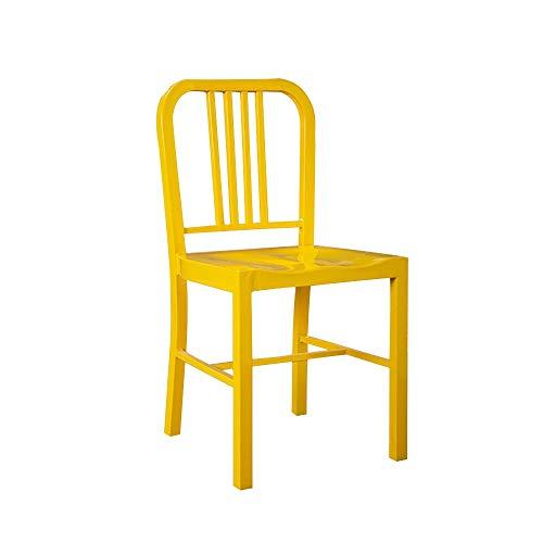 FYMDHB886 Eetstoel Industriële wind enkele strijkijzer stoel fauteuil Onderhandelingen stoel stoel Dressoir Nagelkruk Vergaderstoel, Size, A