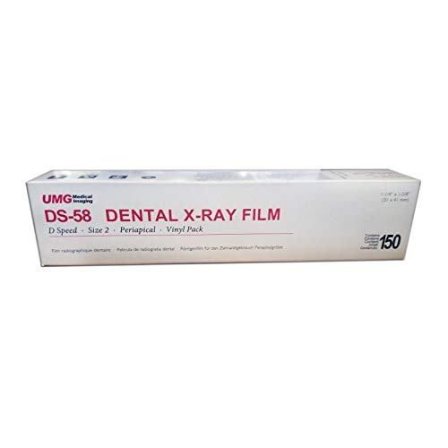 Dental Intraoral D-speed X-ray Film Ds-58 Size 2