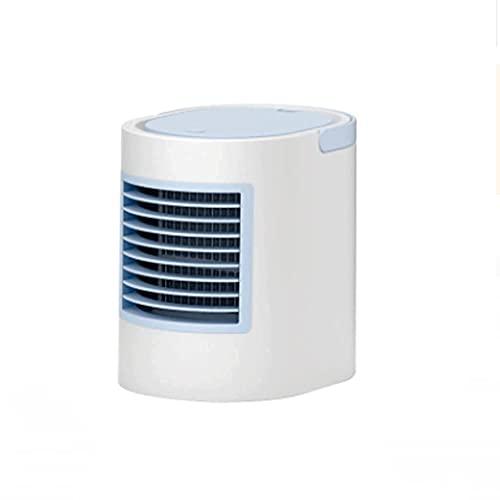Ventiladores de aire acondicionado, Electrodomésticos, Mini Aire acondicionado USB Pequeño Aire Cool Portátil Ventilador de refrigeración Portátil Tanques Doble Tanques Coloridos Luces LED portátiles