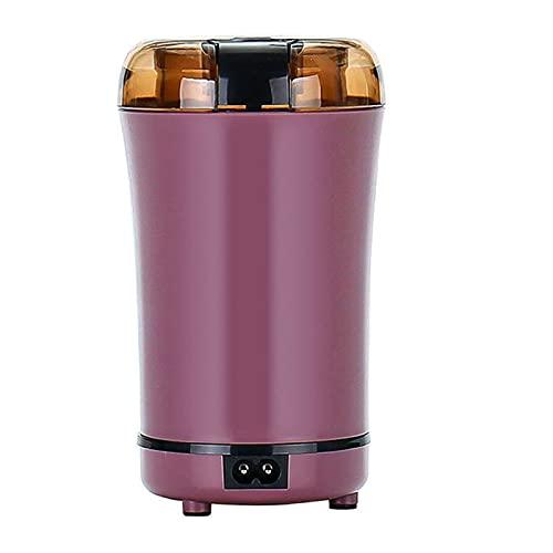 Macinacaffè elettrico, smerigliatrice per spezie in acciaio inossidabile, robot da cucina, macinino piccolo, per semi/fagioli/grano/pepe