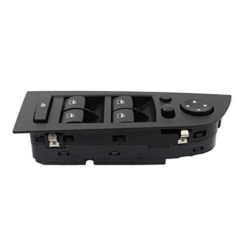 MNBHD Interruptor de Control de Ventana Interruptor Adapta Conductor del Coche de la Ventana Lateral de Control for BMW E90 E91 325I 328I 330I 61319217332 (Color : Black)