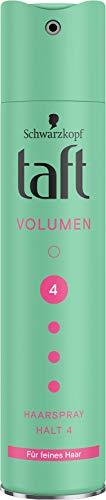TAFT Haarspray Volumen Feines Haar Halt 4, 250 ml