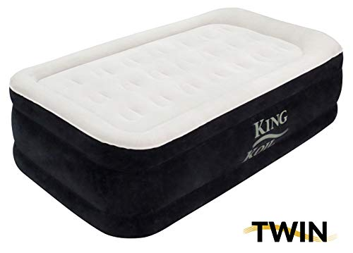 King Koil Twin Air Mattress with Built-in Pump