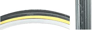 Set of 2, Sunlite Road Raised Center Tire - 27 x 1-1/4, Black/Gum