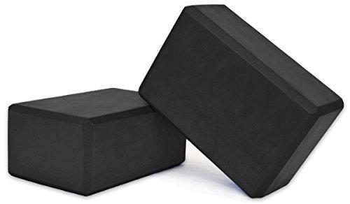 Fanaticism 2er-Set Yogablock Yoga Blöcke Yoga-Block (schwarz)