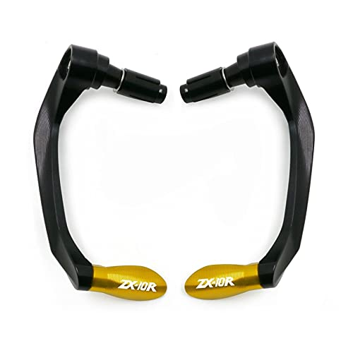 NANAMOTO para ka-WA-Saki para NINJA650 para Motocicletas ZX-10R. Publillas de Manillar Universal Guard Brake Lavers Guard Protector Freno Embrague (Color : D)