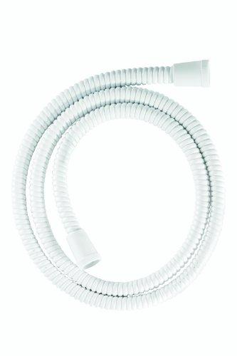 Croydex Essentials Verstärkter Duschschlauch PVC 1,5m Weiß