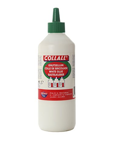 Unbekannt CollAll Whiteglue PVA 21,1 x 6,1 x 6,1 cm Weiß-White, 21.1 x 6.1 x 6.1 cm