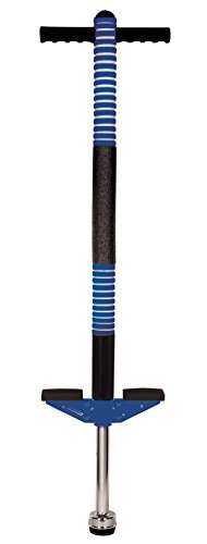 New Sports Pogo Stick blau/schwarz, Höhe 95cm
