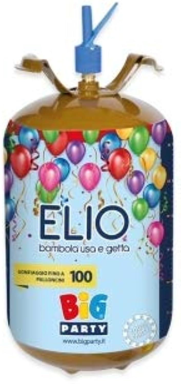 Unbekannt Party & Co. Gasflasche Elio 100 Luftballons 13,6Lt. USA und Getta