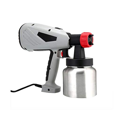 Queen Boutiques Elektrische Spritzpistole Einstellbare Flow Control Power Tool Airbrush Abnehmbarer Hochdruck Kuchen-Schokoladen-Farbspritzmaschine 800 Ml (Color : B)