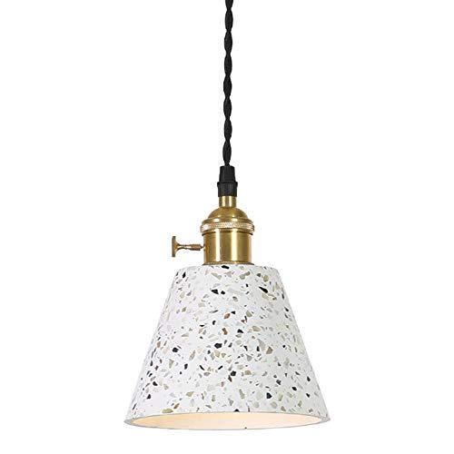 YAP Terrazo Pendiente de la luz de la lámpara del diseño I