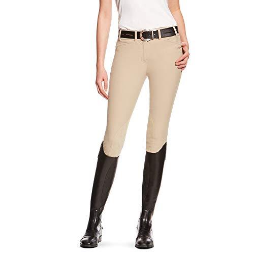 ARIAT Women's Heritage Elite Knee Patch Breech Tan Size 36 Regular