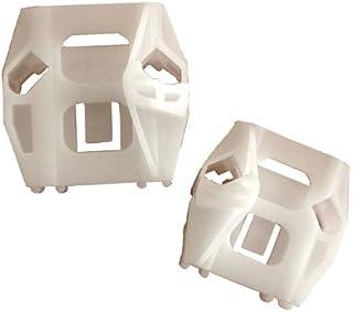 myshopx C46 Fensterheber Reparatursatz Gleitbacke Schiebetür Seilzug Gleitstück Fenster Fensterheber Reparatursatz Clip Fensterheber Rolle Wickler Rolle Umlenkrolle