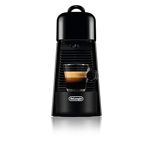 De'Longhi Nespresso Essenza Plus Black Espresso Machine