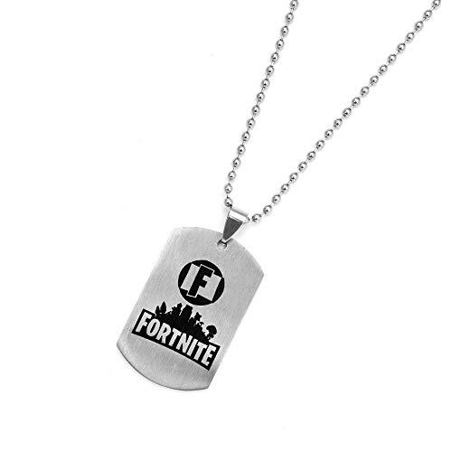 Schlüsselkette, Anhänger-Kette, Edelstahl-Material, Verschiedene Funktionen, schönes Aussehen kleines Geschenk, Halskette Typ D, 2.5 * 4 * 0.15 dick