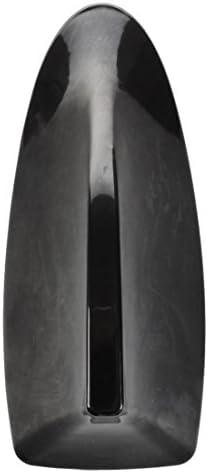 Tejado antena - TOOGOO(R) Coche SUV Techo Special Radio FM Aleta Antena Tiburon Aerial Signal Universal negro