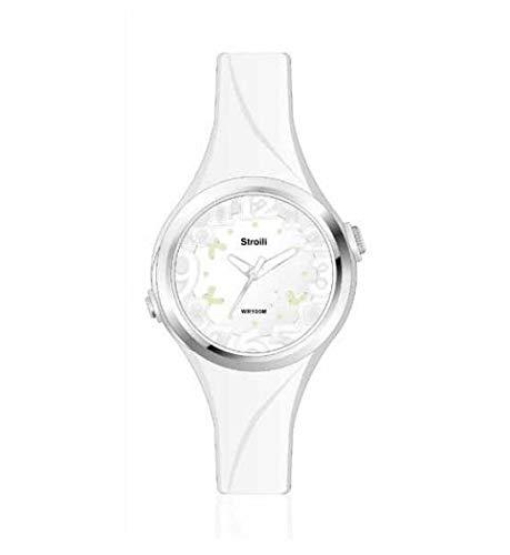 stroili orologio in silicone bianco 1663881