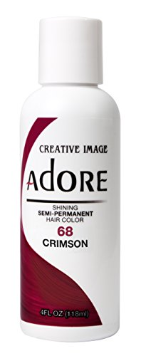 Adore SemiPermanent Haircolor 118ml, 068 Crimson, 4 Fl Oz (AD-68)