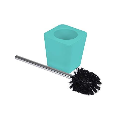 Bain 30042 Brosse WC plastique effet soft touch vitamine vert menthe, ABS, Taille unique
