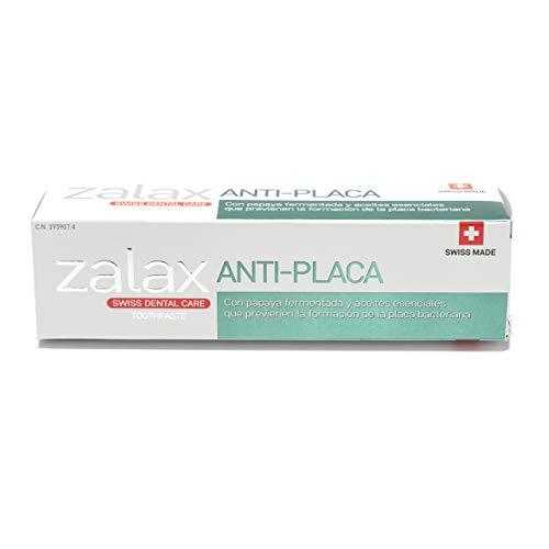 Pharmex - Zalax - Pasta De Dientes Antiplaca - Con Papaya Fermentada Y Aceites Esenciales Que Previenen La Formación De Placa Antibacteriana - 100 ml
